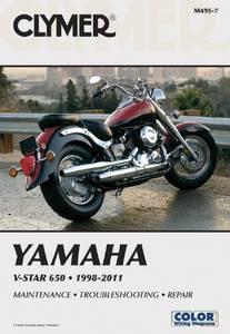 Bilde av Clymer Manuals Yamaha V-Star 650