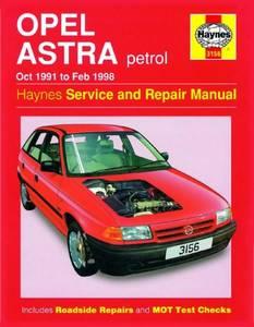 Bilde av Opel Astra Petrol (Oct 91 - Feb