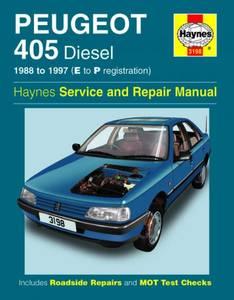Bilde av Haynes, Peugeot 405 Diesel (88 -