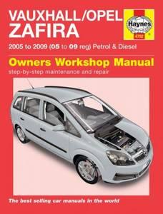 Bilde av Vauxhall/Opel Zafira Petrol &