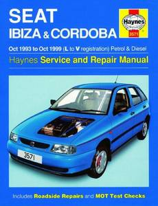 Bilde av Seat Ibiza and Cordoba Petrol &