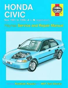 Bilde av Honda Civic (Nov 91 - 96) J to N