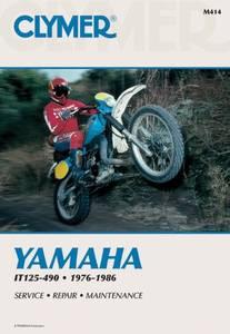 Bilde av Clymer Manuals Yamaha IT125-490