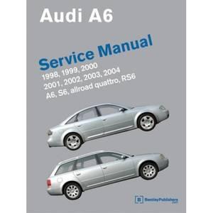 Bilde av Audi A6 Service Manual 1998-2004