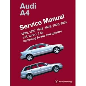 Bilde av Audi A4 Service Manual 1996-2001