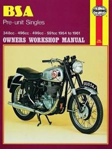 Bilde av BSA Pre-unit Singles (54 - 61)