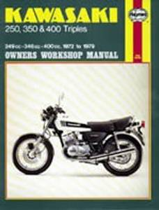 Bilde av Kawasaki 250, 350 & 400 Triples