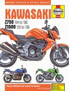 Bilde av Kawasaki Z750 & Z1000 (03 - 08)