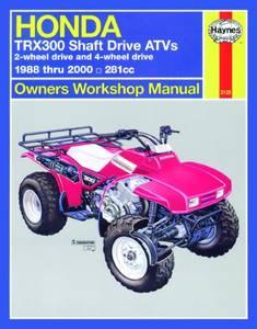 Bilde av Honda TRX300 Shaft Drive ATVs