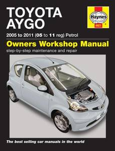 Bilde av Haynes, Toyota Aygo Petrol (05 -