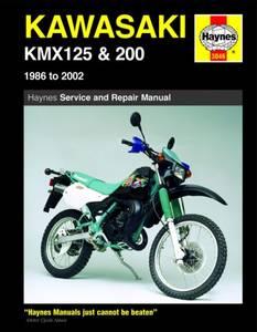 Bilde av Kawasaki KMX125 and 200 (86 -