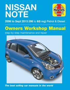 Bilde av Nissan Note Petrol & Diesel (06