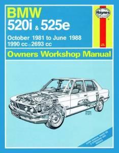 Bilde av BMW 520i and 525e (Oct 81 - June
