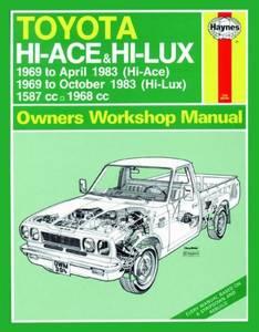 Bilde av Toyota Hi-Ace and Hi-Lux Petrol